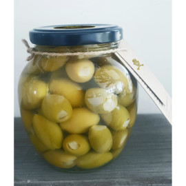 Green Olives Stuffed with Garlic 2
