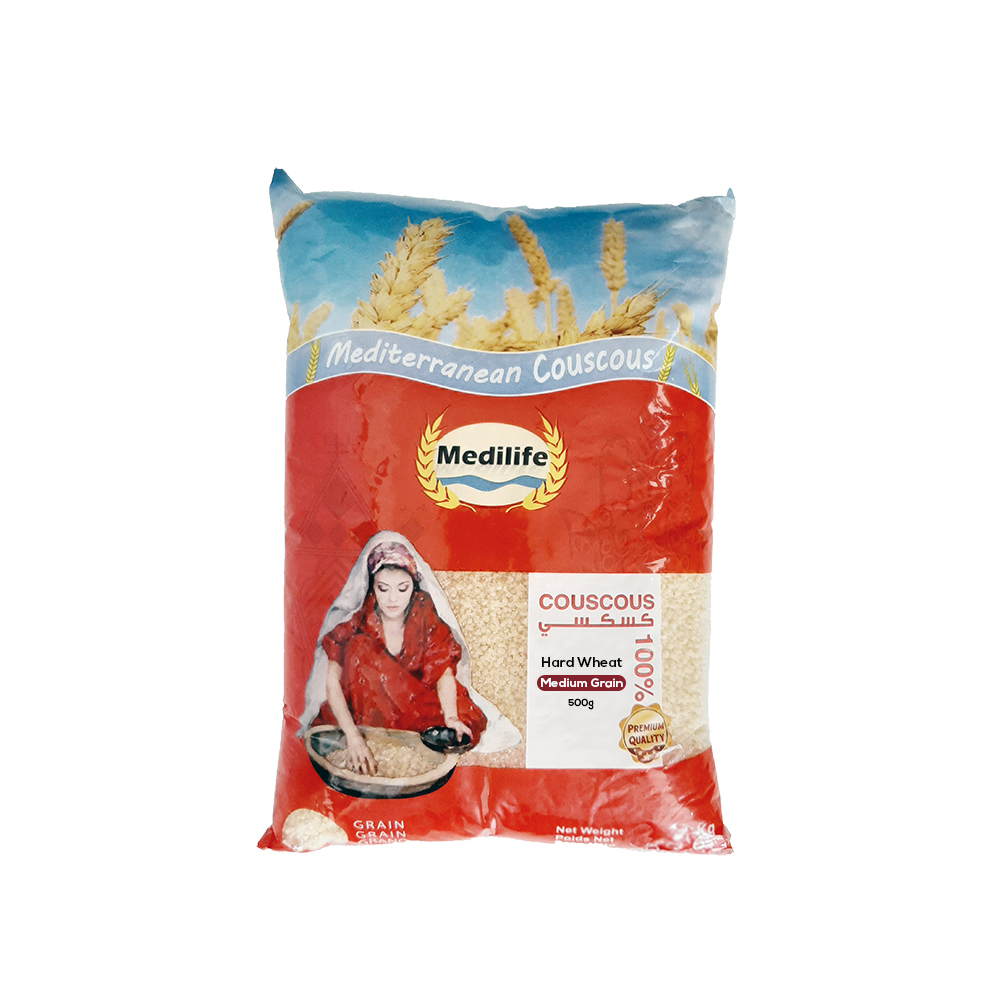 Hard Wheat Couscous 500gr Bag