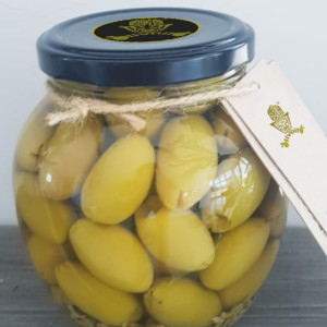 Pitted Green Olives with Fennel