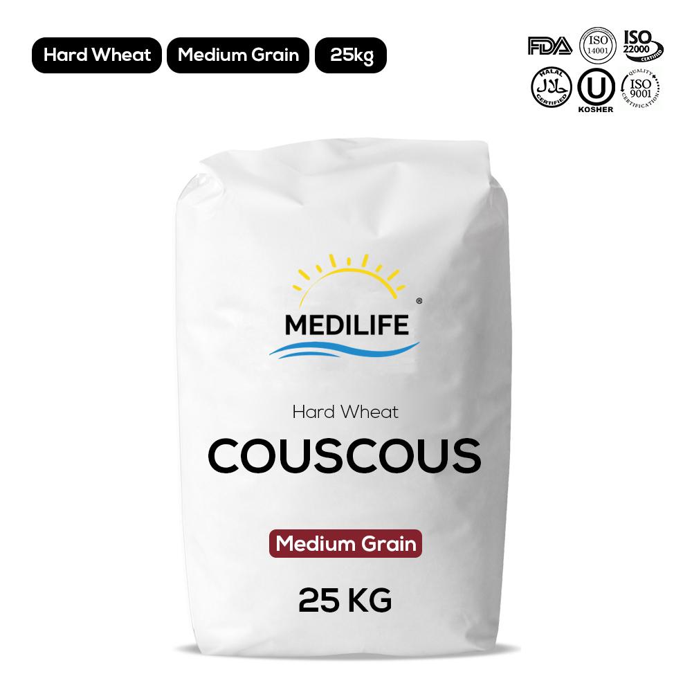 Hard wheat couscous
