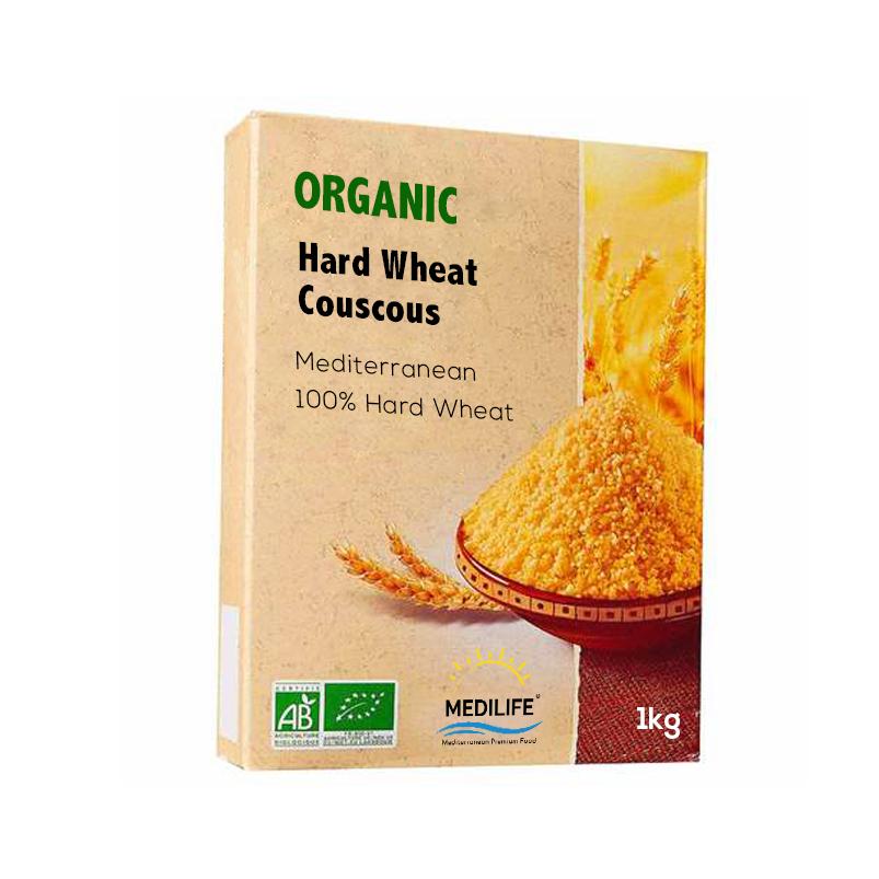 Organic Hard Wheat Couscous 1kg Carton