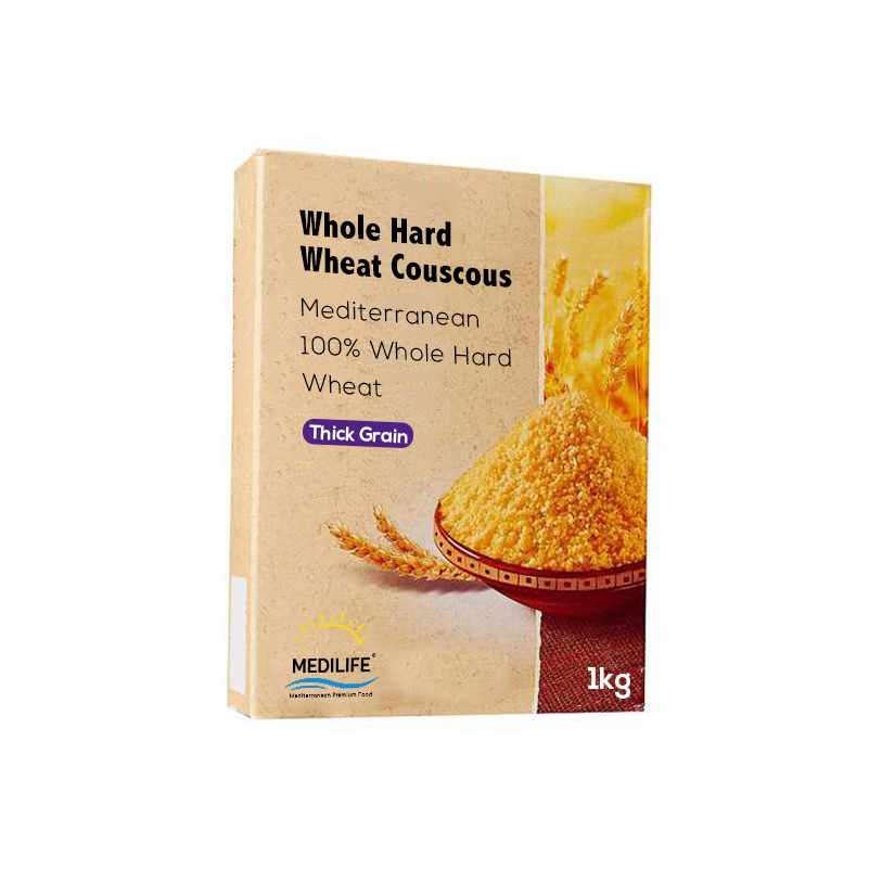 Whole Wheat Couscous 1kg Carton